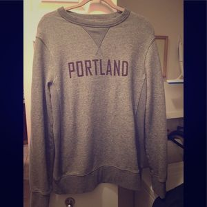 Portland Gray Pullover Sweater by Merona